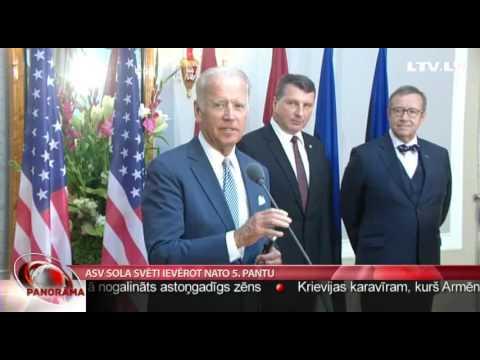ASV viceprezidents sola ievērot NATO 5.pantu