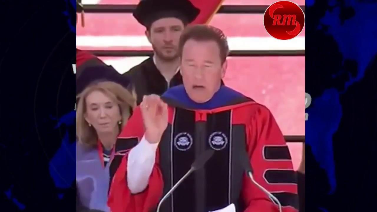 Discurso De Graduación Arnold Schwarzenegger Universidad De Houston