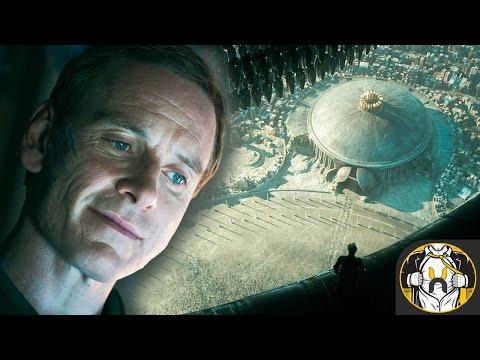 Alien Covenant Images Reveal Engineer City, Walter, Xenomorph, & more