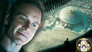 Alien Covenant Images Reveal Engineers City, Walter, Xenomorph, & more