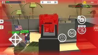 Ckecking guys new game - block gun FPS PvP war online gun shootig Game