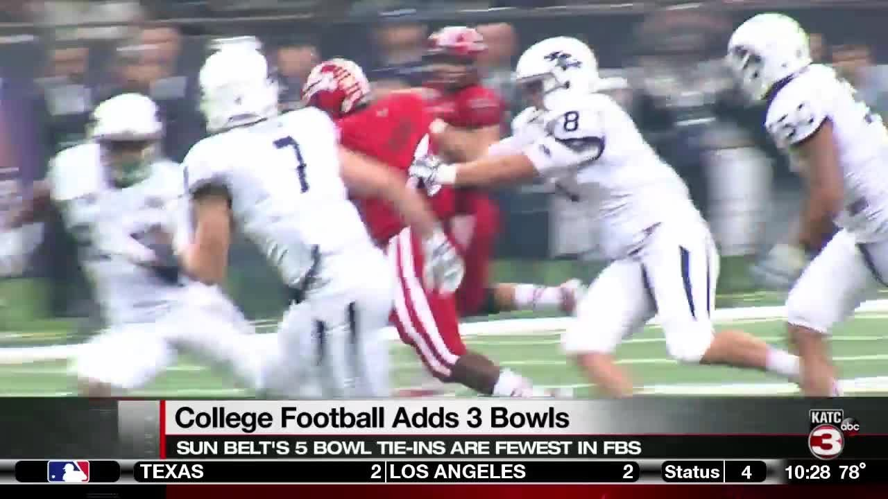 Bowls Games 2020.Ncaa Adding Three New Bowl Games In 2020