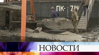 ВВолгограде поисковики подняли содна Волги бронекатер времен Великой Отечественной войны.