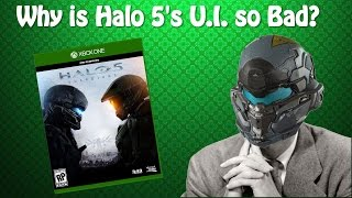 Why is Halo 5's UI So Bad? | The Act Man