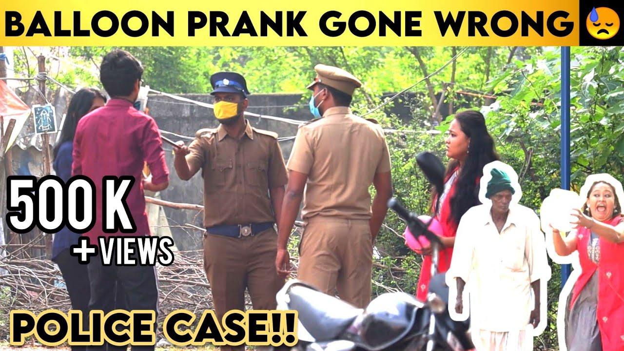 Balloon Prank Gone Wrong | Police Caught | Nepal Tamizhachi | PRANK NO-01 | Andaman Talkies