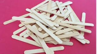 5 Creative Life Hacks using Popsicle Sticks