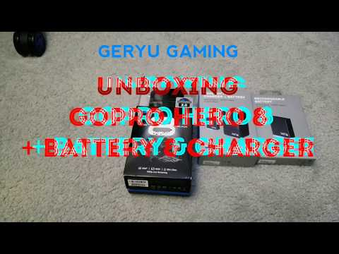 Unboxing GoPro Hero 8 + Battery & Charger