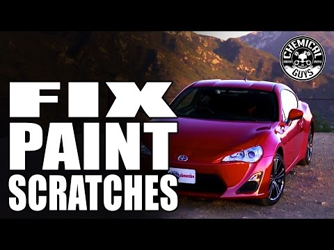 How To Fix Paint Scratches – Scion FRS – Chemical Guys