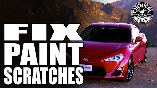 how to fix paint scratches scion frs chemical guys