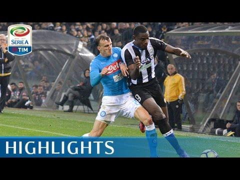 Udinese - Napoli 1-2 - Highlights - Giornata 13 - Serie A TIM 2016/17