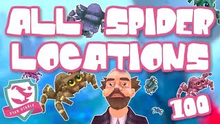 ALL 100 SPIDER LOCATIONS 🛑 LOCATIONS IN SUBTITLES 🛑 - STAR STABLE ONLINE UPDATE
