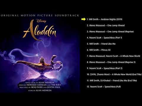 🎵 Aladdin (2019)   English OST🇺🇸  