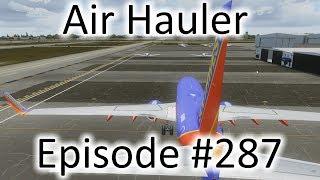 FSX   Air Hauler Ep. #287 - Daytona to D.C.   737-700