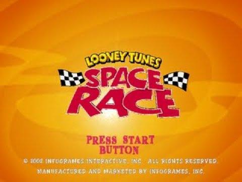 PS2 Longplay [014] Looney Tunes: Space Race
