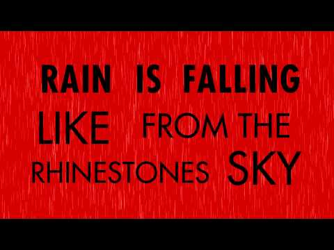 Gorillaz - Rhinestone Eyes ( Lyric Video )