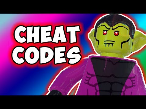 LEGO Marvel Superheroes 2 - ALL Cheat Codes In The Game!
