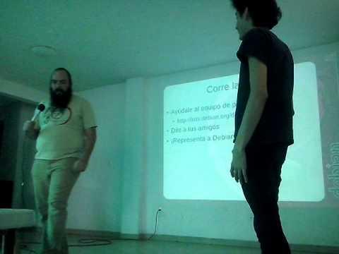 ¿Qué es la DebConf? – Gunnar Wolf.