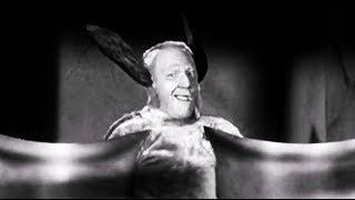 Three Stooges Shemp As A Giant Hideous Bat Spooks 1953