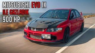 900 HP Gücündeki Mitsubishi Evo IX ile Gazladık / Efsane 4G63 2.1 Motor