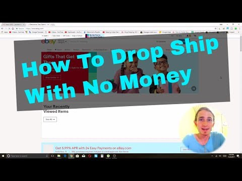 How To Drop Ship With No Money For US AND Non US People on eBay