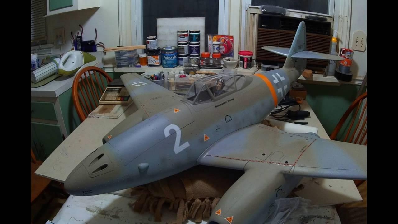 Freewing ME 262 Messerschmitt Twin 70mm EDF Jet Warbird (Build)