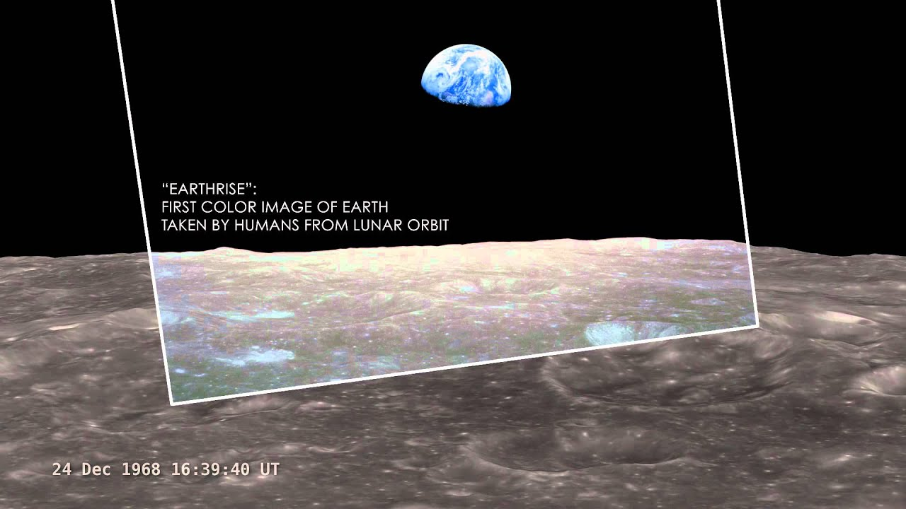 nasa - earthrise - youtube