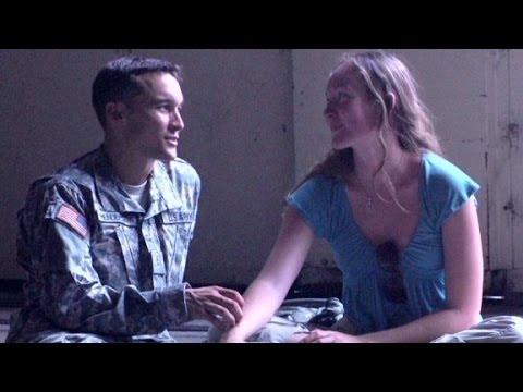 War widow reads dead husband's letter