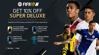 FIFA 17 | OFFICIAL REVEAL (Release Date, Pre Order Bonus, Super Deluxe Edition & More)