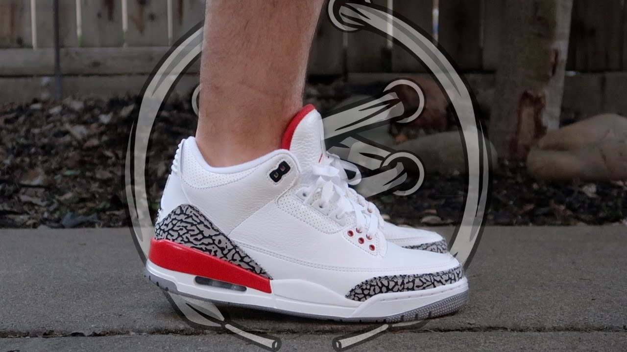 33ac3a30ad0 Air Jordan 3  Katrina  Review - YouTube