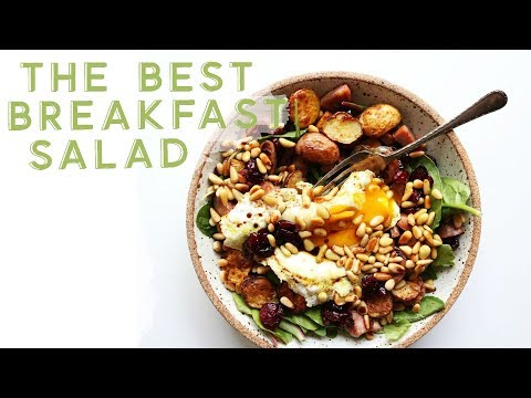 HOW TO MAKE THE BEST BREAKFAST SALAD    gluten free + paleo