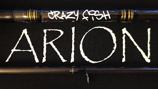 ARION ЛУЧШЕ ЯПОНЦА Спиннинг Crazy Fish Arion ASR762LS 229 3 12 Обзор после двух лет владения