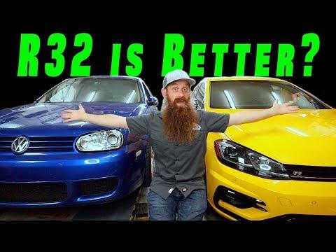 Why the R32 is BETTER than the Golf R (Mk4 R32 vs Mk7.5 R)