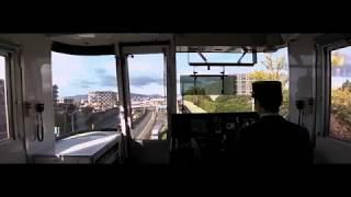 大阪モノレール 柴原阪大前ー蛍池 ワイドスクリーン前面展望