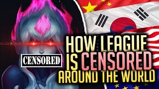 How League is CENSORED All Around The World