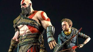 GOD OF WAR 4 Bundle Trailer (2018) PS4 Pro