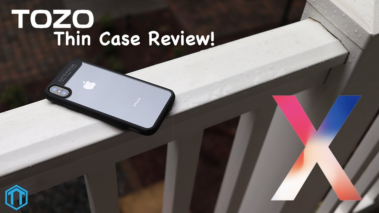 size 40 85f71 29db8 iPhone X Tozo Thin Case Review!