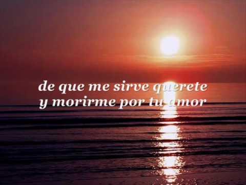 Alvaro Torres - De Que Me Sirve Quererte (lyrics)