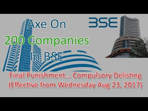 Axe On 200 Companies In BSE