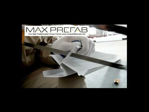 Max Prefab Flat Pack Container House Installation