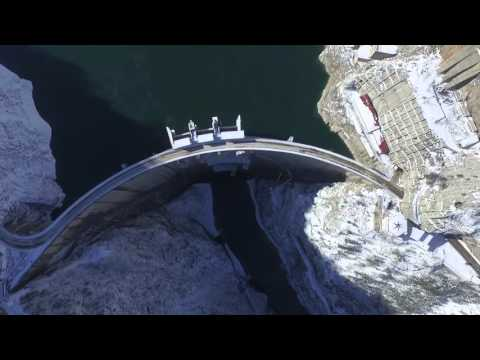 Montenegro EPCG Hydro Power Plants (HPP Piva, HPP Perucica) DJI Phantom 3 Drone