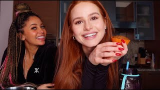 Baking with Vanessa Morgan pt 2 | Madelaine Petsch