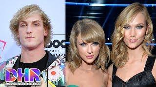 Logan Paul LEAVING YouTube?! - Karlie Kloss RESPONDS To Taylor Swift Drama (DHR)