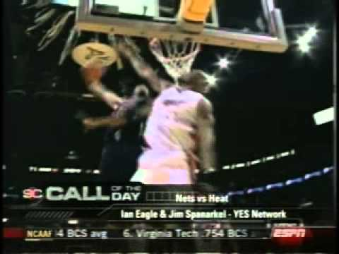 2005 Vince Carter Destroys Alonzo Mourning/ Ian Eagle Commentary