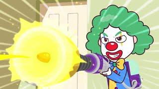 Talking Tom Heroes - Le clown triste (Épisode 21)