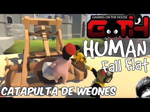 CATAPULTANDO WEONES! Human Fall EN VIVO - GOTH