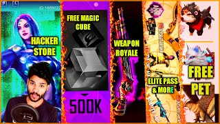 FREE PET | HACKER STORE | MAGIC CUBE | MYSTERY SHOP & MORE | FREE FIRE | SHIV GAMING !