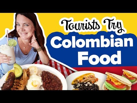 Is Colombian Food Good? 😋 Delicious Medellin food tour. Eating Traditional Food in Colombia