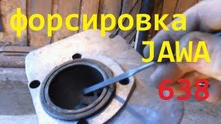Форсировка JAWA 638