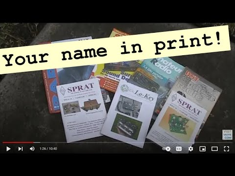 How to write an article for a magazine