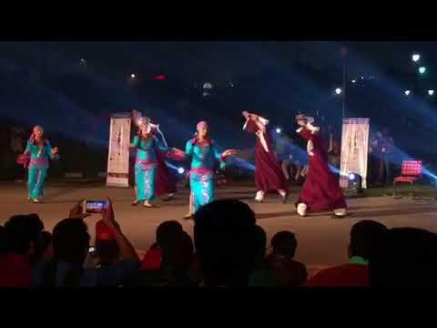 Egyptian cabaret folk dancing in Delhi